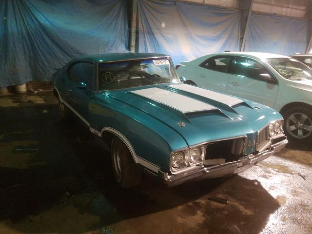 Oldsmobile salvage cars for sale: 1970 Oldsmobile Cutlass