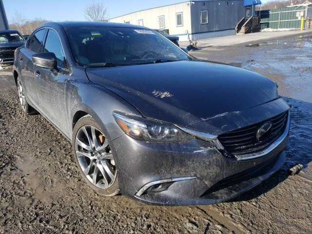 Salvage cars for sale from Copart Duryea, PA: 2017 Mazda 6 Grand Touring