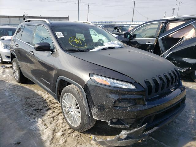Salvage cars for sale from Copart Columbus, OH: 2014 Jeep Cherokee L