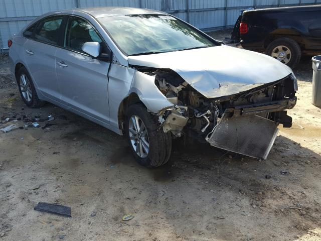 Salvage cars for sale from Copart Midway, FL: 2017 Hyundai Sonata SE