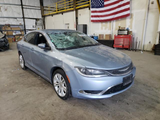 Salvage cars for sale from Copart Reno, NV: 2015 Chrysler 200 Limited