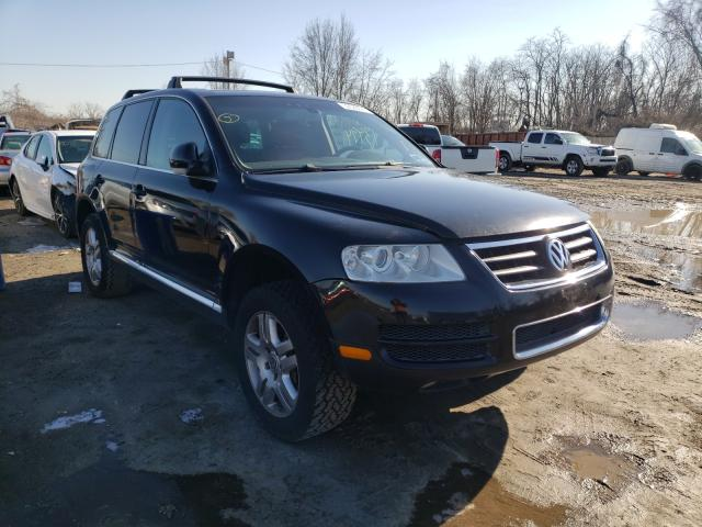Salvage cars for sale from Copart Baltimore, MD: 2004 Volkswagen Touareg