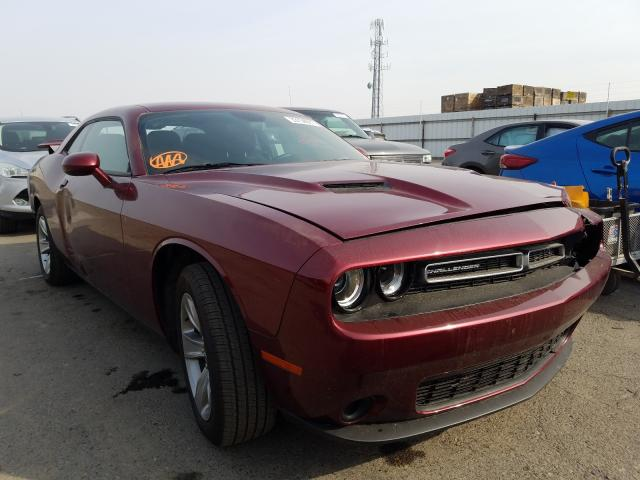 Salvage cars for sale from Copart Fresno, CA: 2019 Dodge Challenger