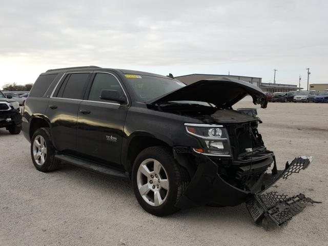 Salvage cars for sale from Copart San Antonio, TX: 2015 Chevrolet Tahoe K150