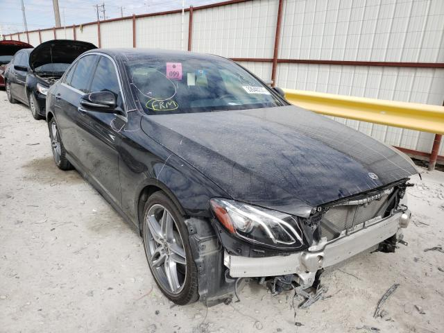 Salvage cars for sale from Copart Haslet, TX: 2018 Mercedes-Benz E 300