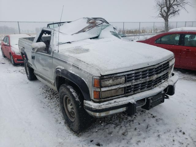 Salvage cars for sale from Copart Cicero, IN: 1993 Chevrolet GMT-400 K2