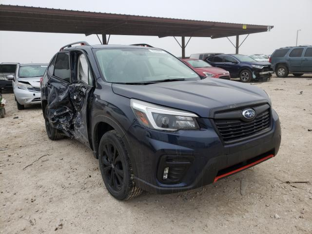 Salvage cars for sale from Copart Temple, TX: 2021 Subaru Forester S