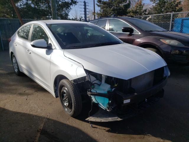 Hyundai salvage cars for sale: 2020 Hyundai Elantra SE