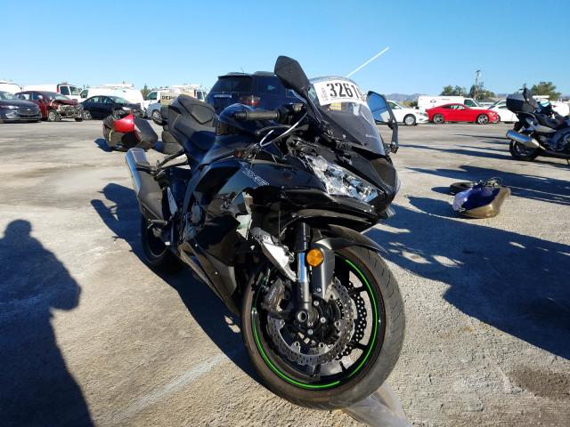 Salvage cars for sale from Copart Sun Valley, CA: 2019 Kawasaki ZX636 K