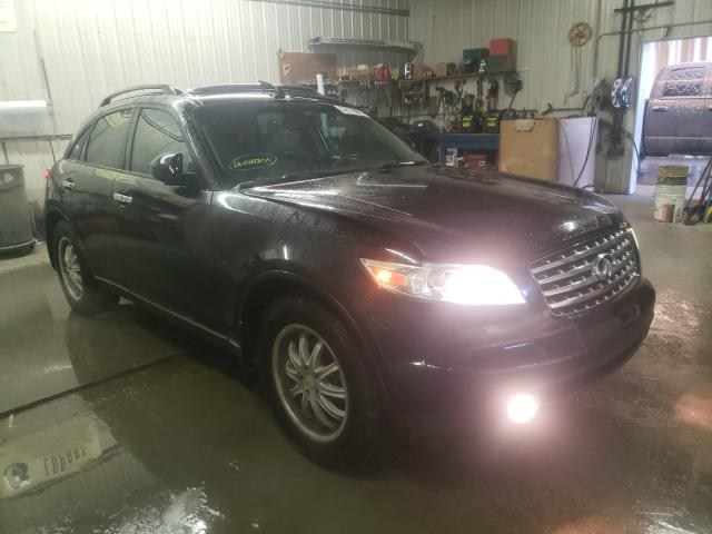 Infiniti FX35 salvage cars for sale: 2005 Infiniti FX35