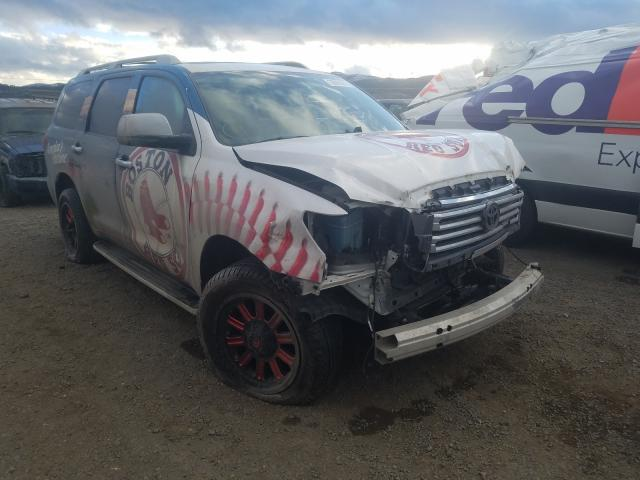 Salvage cars for sale from Copart Helena, MT: 2019 Toyota Sequoia PL
