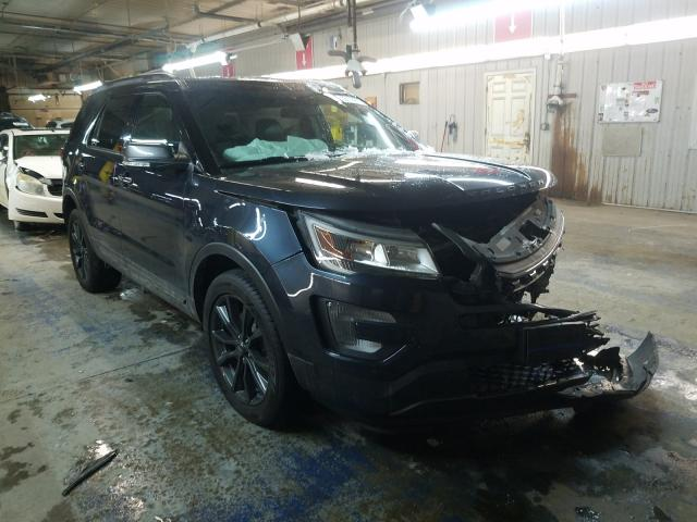 Salvage cars for sale from Copart Fort Wayne, IN: 2017 Ford Explorer X