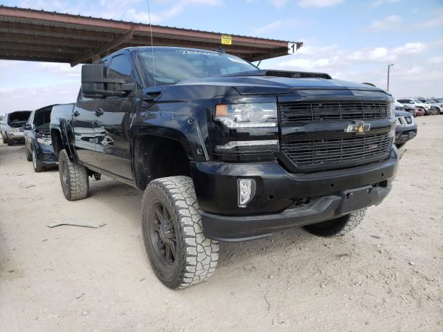 Salvage cars for sale from Copart Temple, TX: 2017 Chevrolet Silverado