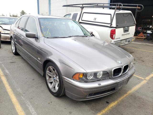 Salvage cars for sale from Copart Vallejo, CA: 2002 BMW 525 I Automatic
