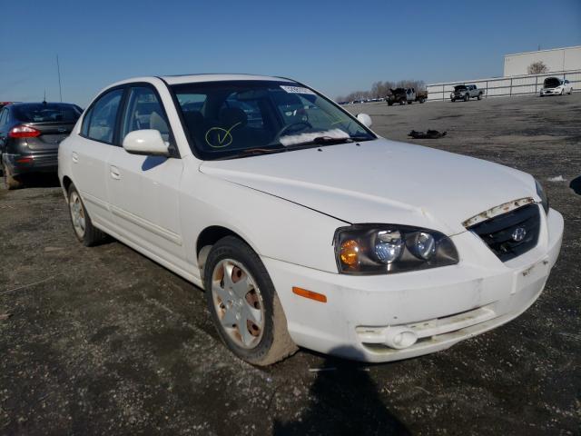 Salvage cars for sale from Copart Fredericksburg, VA: 2006 Hyundai Elantra GL