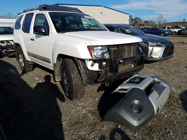Salvage cars for sale from Copart Spartanburg, SC: 2012 Nissan Xterra OFF