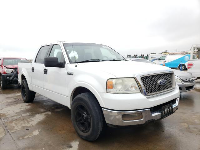 Vehiculos salvage en venta de Copart Grand Prairie, TX: 2005 Ford F150 Super
