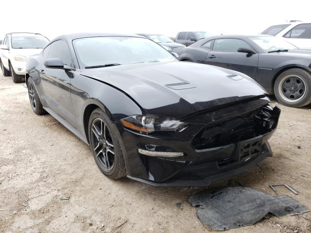 Salvage cars for sale from Copart Temple, TX: 2018 Ford Mustang