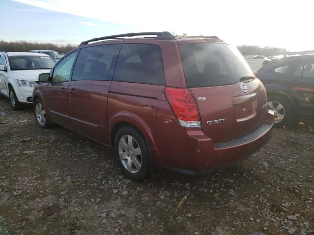 2004 NISSAN QUEST S - Right Front View
