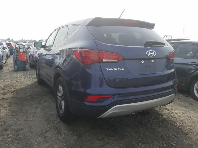 2018 HYUNDAI SANTA FE S 5XYZT3LB5JG511390