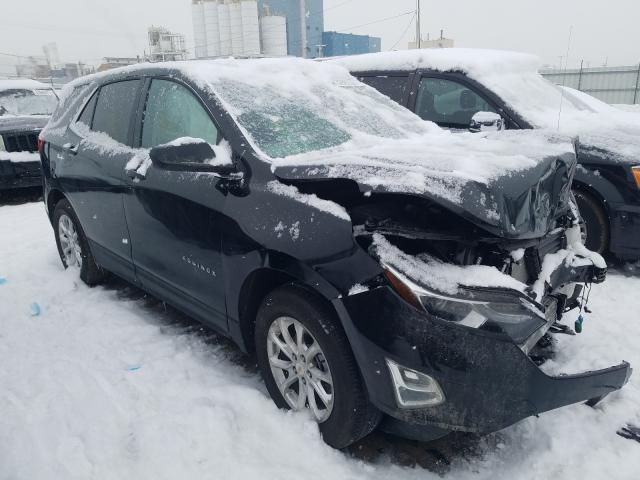 Salvage cars for sale from Copart Chicago Heights, IL: 2020 Chevrolet Equinox LT