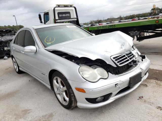 Salvage cars for sale from Copart Apopka, FL: 2007 Mercedes-Benz C 230