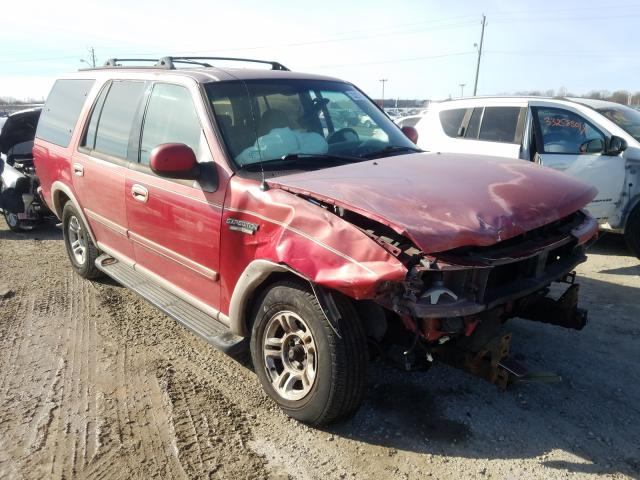 Ford Expedition salvage cars for sale: 1997 Ford Expedition