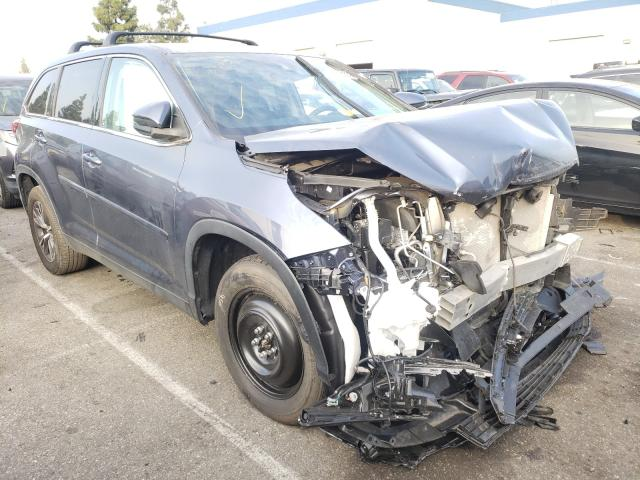 Salvage cars for sale from Copart Rancho Cucamonga, CA: 2019 Toyota Highlander