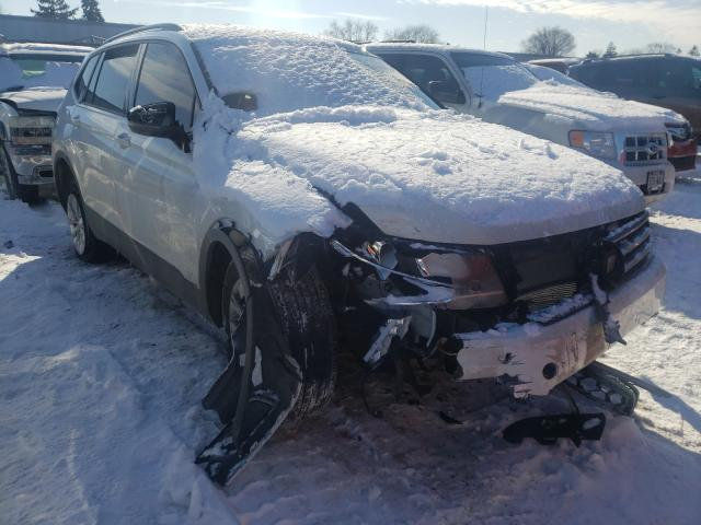 Salvage cars for sale from Copart Cudahy, WI: 2020 Volkswagen Tiguan S