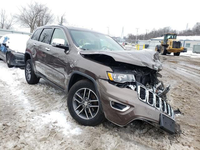 Salvage cars for sale from Copart West Mifflin, PA: 2017 Jeep Grand Cherokee