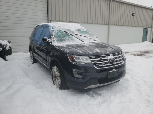 Salvage cars for sale from Copart Chalfont, PA: 2017 Ford Explorer X