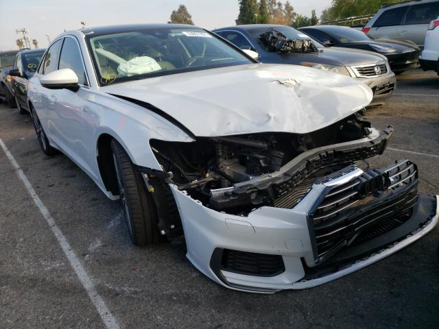 Salvage cars for sale from Copart Van Nuys, CA: 2019 Audi A6 Premium