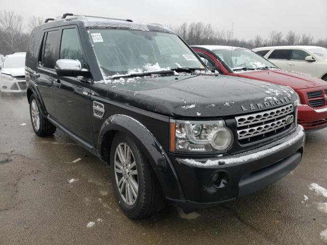 Salvage cars for sale from Copart Louisville, KY: 2010 Land Rover LR4 HSE PL