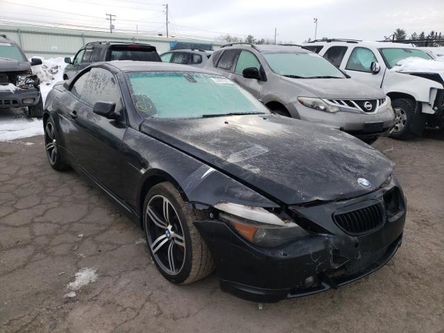 BMW 645 CI AUT salvage cars for sale: 2005 BMW 645 CI AUT