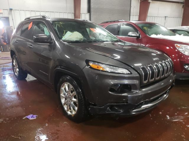 Salvage cars for sale from Copart Lansing, MI: 2014 Jeep Cherokee L