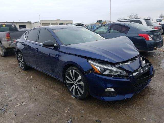 Salvage cars for sale from Copart Indianapolis, IN: 2020 Nissan Altima SR