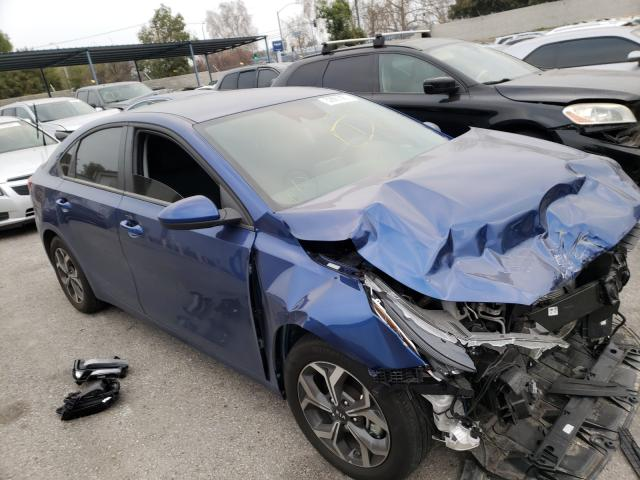Salvage cars for sale from Copart Colton, CA: 2020 KIA Forte FE