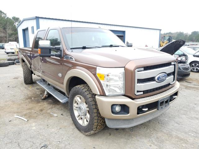 Salvage cars for sale from Copart Shreveport, LA: 2011 Ford F250 Super