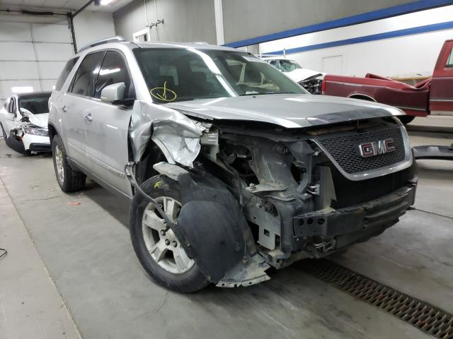 Salvage cars for sale from Copart Pasco, WA: 2008 GMC Acadia SLT