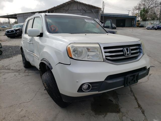 Salvage cars for sale from Copart Corpus Christi, TX: 2013 Honda Pilot Touring