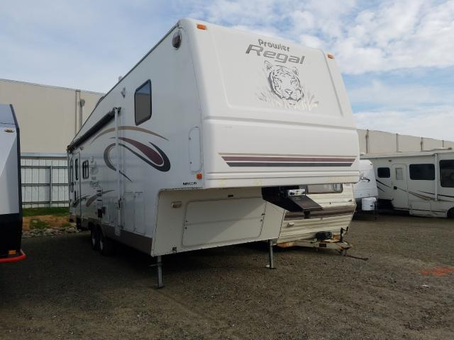 Prowler salvage cars for sale: 2004 Prowler Travel Trailer