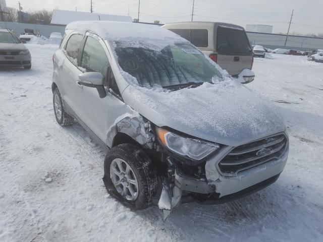 Salvage cars for sale from Copart Hammond, IN: 2020 Ford Ecosport S