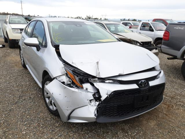 Salvage cars for sale from Copart Anderson, CA: 2020 Toyota Corolla LE