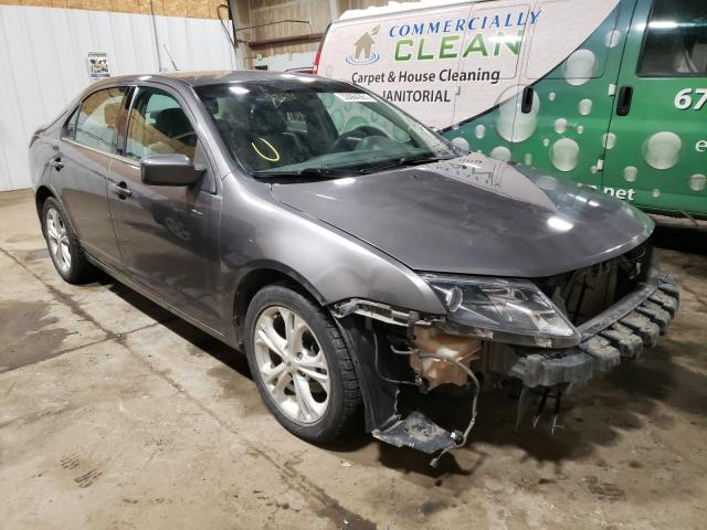 Salvage cars for sale from Copart Anchorage, AK: 2012 Ford Fusion SE