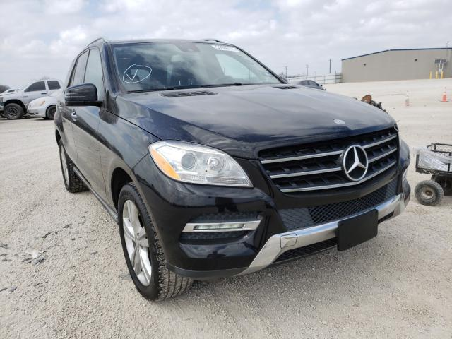 Salvage cars for sale from Copart San Antonio, TX: 2015 Mercedes-Benz ML 350
