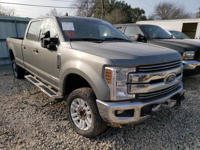 Salvage cars for sale from Copart Corpus Christi, TX: 2019 Ford F350 Super