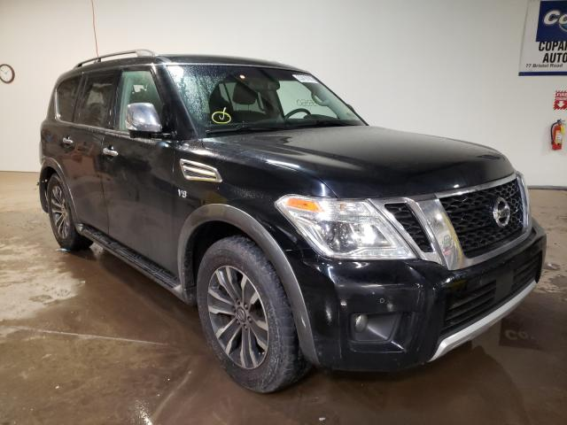 Salvage cars for sale from Copart Chalfont, PA: 2017 Nissan Armada SV