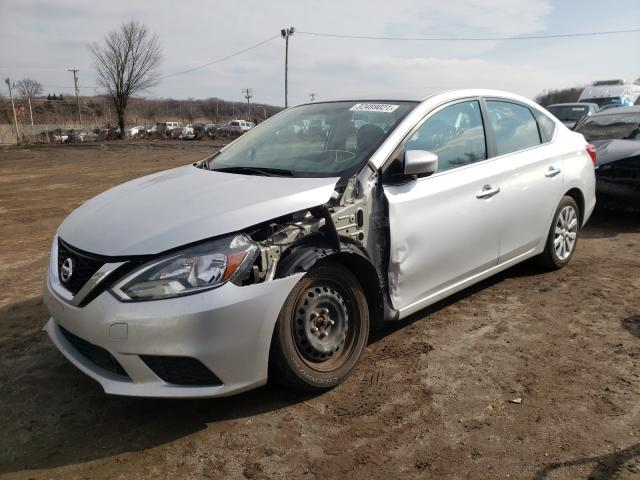 2018 NISSAN SENTRA S - Left Front View