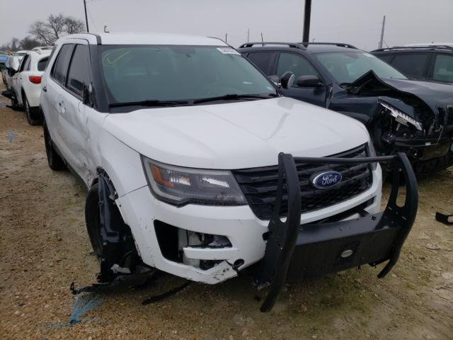 Salvage cars for sale from Copart Temple, TX: 2019 Ford Explorer P