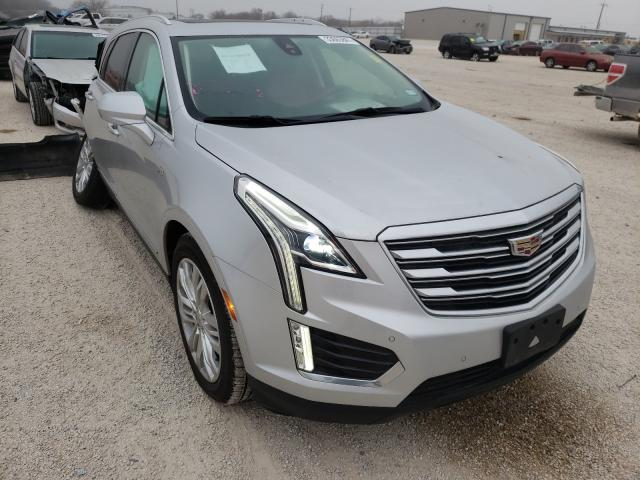 Salvage cars for sale from Copart San Antonio, TX: 2018 Cadillac XT5 Premium